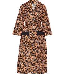 anny jurk knielengte multi/patroon baum und pferdgarten
