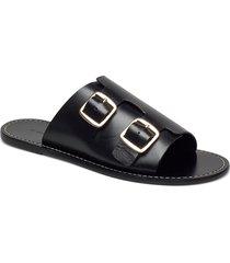 firenzia shoes summer shoes flat sandals svart by malene birger