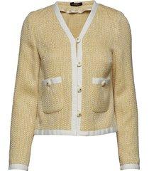 juliet jacket stickad tröja cardigan beige morris lady