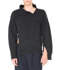 marni destroyed sweater