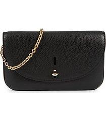 mini pebbled-leather envelope crossbody bag