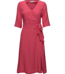 aimée dress korte jurk roze morris lady