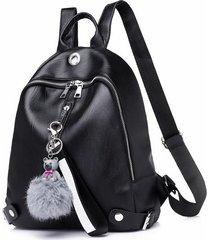 mochila casual mujeres- mochila para mujeres-negro