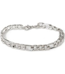 mens silver chain bracelet*