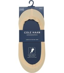 cole haan women's laser-cut memory foam no-show liner socks