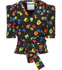 moschino blouses