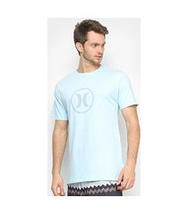 camiseta hurley silk circle icon masculina
