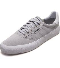 tenis lifestyle gris-blanco adidas originals 3mc