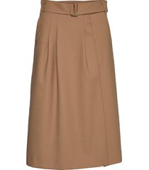 hcw chino skirt rok knielengte beige hilfiger collection