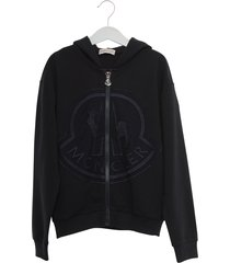 moncler hoodie with embroiderd logo