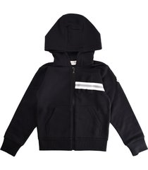 moncler black hooded sweatshirt