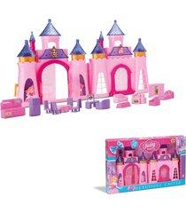 castelo musical com luz princesa judy – samba toys