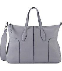 bauletto piccolo leather crossbody bag