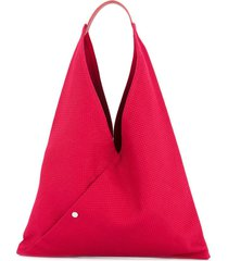 cabas n39 triangle tote - red