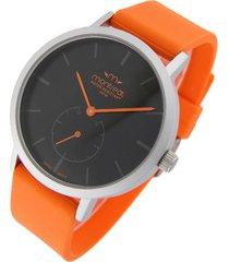 reloj naranja montreal