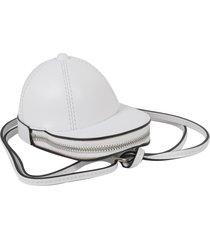jw anderson white nano cap bag