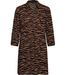 blouse long 3/4 sleeve blus långärmad brun betty barclay