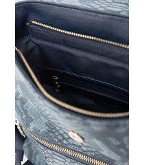 mochila positano azul desigual