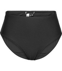 high waist bikini brief bikinitrosa svart superdry