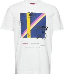 debel t-shirts short-sleeved vit hugo