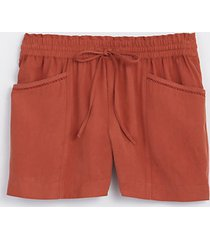 loft lacy pocket pull on shorts