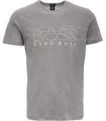 boss artwork logo t-shirt - pastel grey 50399921