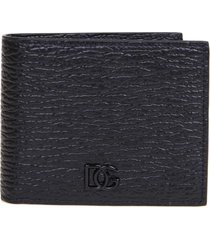 wallet in calfskin with logo