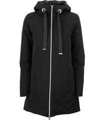 herno resort grecale jacket travel a-shape