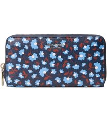 kate spade new york spencer floral party continental wallet