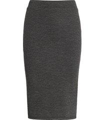 vimany pencil skirt /rx knälång kjol grå vila