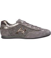 scarpe sneakers donna camoscio olympia