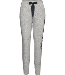 long life jogger sweatpants mjukisbyxor grå abercrombie & fitch