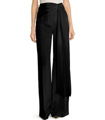 silk moroccaine trousers
