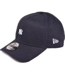 boné new era new york yankees 9forty mini logo masculino