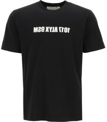 1017 alyx 9sm t-shirt with mirrored logo