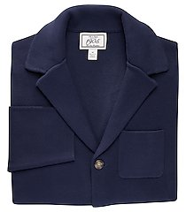 1905 collection tailored fit notch lapel men's sweater jacket - big & tall