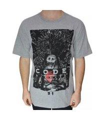 camiseta code blessed masculina