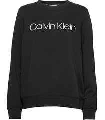 core logo ls sweatshirt sweat-shirt trui zwart calvin klein