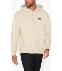levis authentic po hoodie authentic tröjor neutral