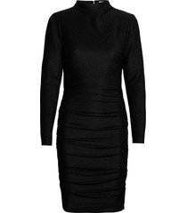dina dress jurk knielengte zwart twist & tango
