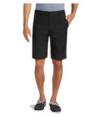 david leadbetter tailored fit flat front shorts - big & tall clearance by jos. a. bank