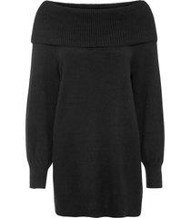 maglione con collo a ciambella (nero) - bodyflirt