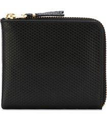 comme des garçons wallet luxury group purse - black
