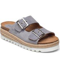 sonja sandaletter expadrilles låga blå sweeks