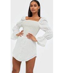 missguided corset bodice milkmaid dress skater dresses