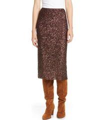 women's lafayette 148 new york casey sequin midi skirt