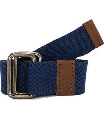 cinturón azul-café colore