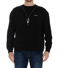 marcelo burlon single chain sweatshirt