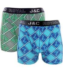 j&c heren boxer 2 pak 30064-xl