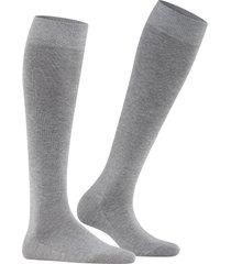 women's falke family knee high socks, size 35/38 - grey